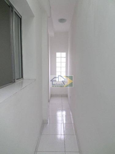 kitnet residencial para locação, centro, suzano. - kn0008