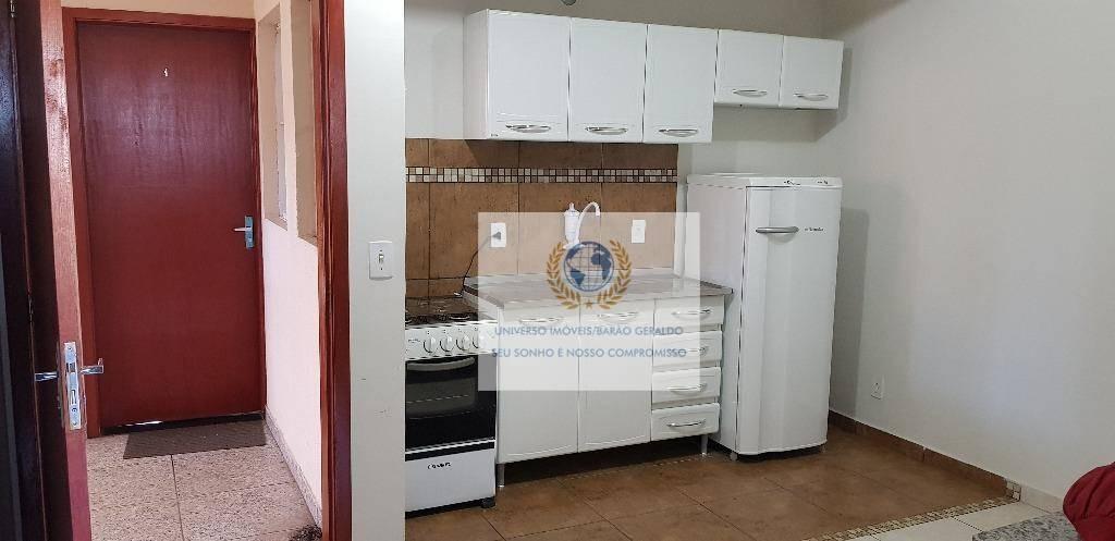 kitnet residencial para locação, cidade universitária, campinas. - kn0048
