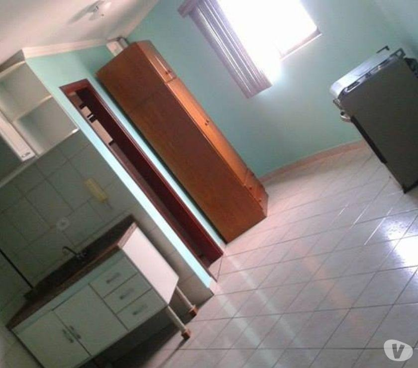 kitnet residencial para locação, vila guilhermina, praia grande. - kn0006