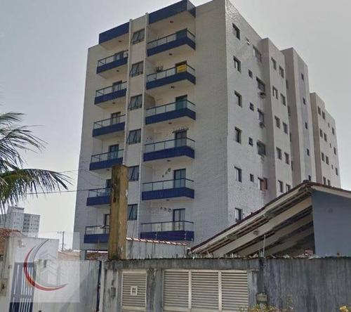 kitnet  residencial para venda e locação, vila guilhermina, praia grande. - kn0074