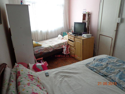 kitnet residencial à venda, boqueirão, praia grande. - kn0023