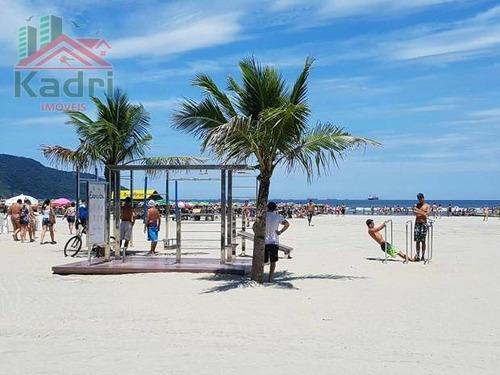 kitnet residencial à venda, boqueirão, praia grande. - kn0042
