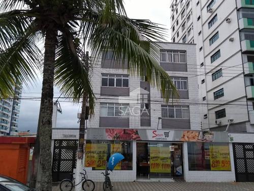 kitnet residencial à venda, boqueirão, praia grande. - kn0142