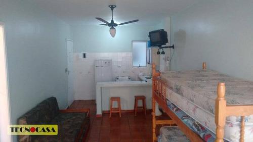 kitnet residencial à venda, campo da aviação, praia grande - kn0245. - kn0245