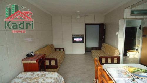 kitnet residencial à venda, canto do forte, praia grande. - kn0081