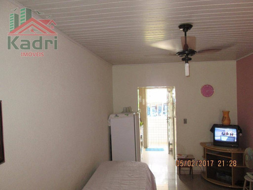 kitnet residencial à venda, canto do forte, praia grande. - kn0125