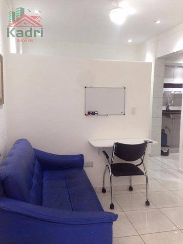 kitnet residencial à venda, canto do forte, praia grande. - kn0134