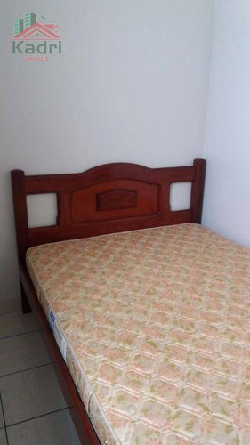 kitnet residencial à venda, canto do forte, praia grande. - kn0135
