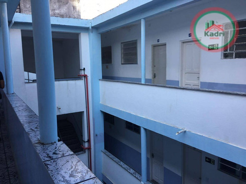 kitnet residencial à venda, canto do forte, praia grande. - kn0179