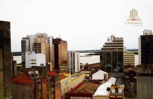 kitnet residencial à venda, centro, porto alegre. - kn0006