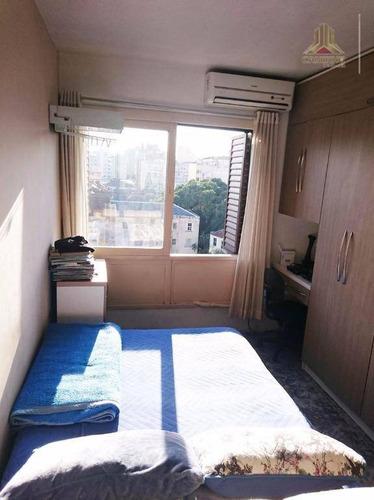 kitnet residencial à venda, cidade baixa, porto alegre. - kn0036