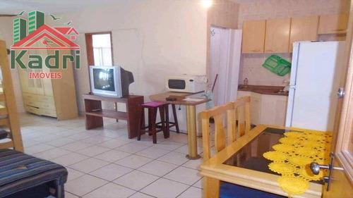 kitnet residencial à venda, cidade ocian, praia grande. - kn0020