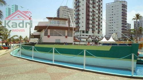 kitnet residencial à venda, cidade ocian, praia grande. - kn0128