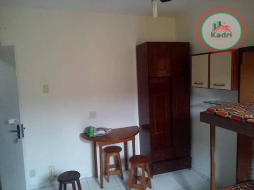 kitnet residencial à venda, cidade ocian, praia grande. - kn0182
