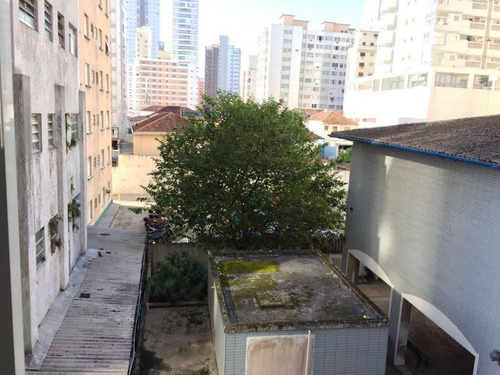 kitnet residencial à venda, embaré, santos - kn0004. - kn0004