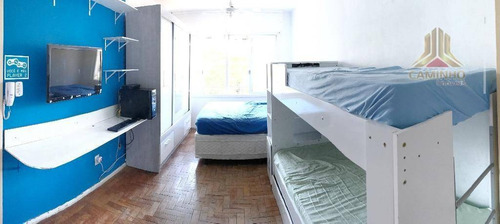 kitnet residencial à venda, praia de belas, porto alegre. - kn0060