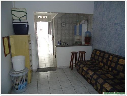 kitnet residencial à venda, vila guilhermina, praia grande.