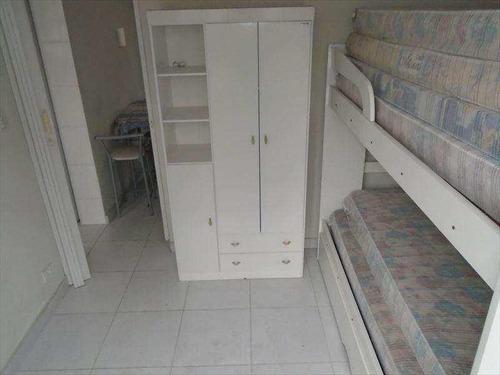 kitnet residencial à venda, vila guilhermina, praia grande. - kn0012