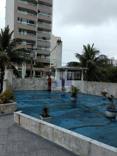 kitnet residencial à venda, vila guilhermina, praia grande. - kn0017