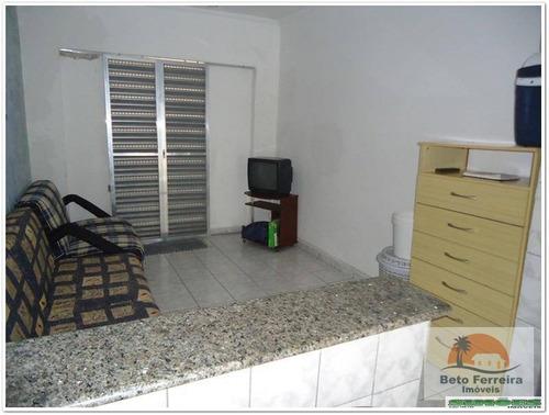 kitnet residencial à venda, vila guilhermina, praia grande. - kn0019
