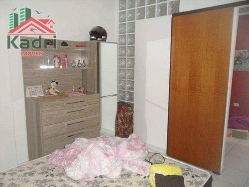 kitnet residencial à venda, vila guilhermina, praia grande - kn0030. - kn0030