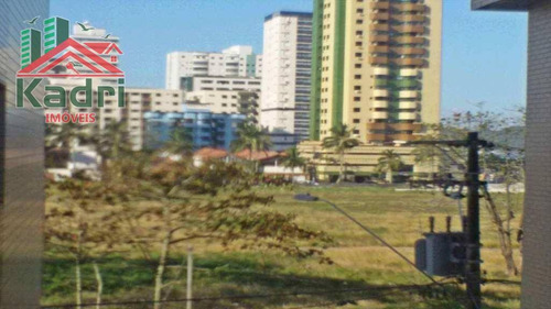 kitnet residencial à venda, vila guilhermina, praia grande. - kn0052