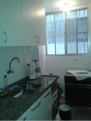 kitnet  residencial à venda, vila guilhermina, praia grande. - kn0057