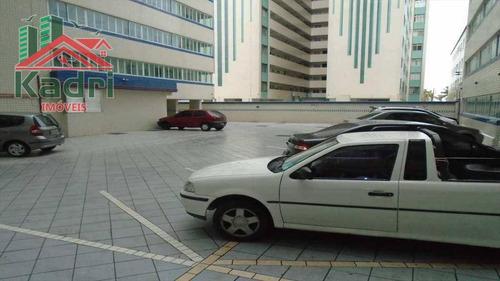 kitnet residencial à venda, vila guilhermina, praia grande. - kn0060