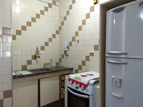 kitnet residencial à venda, vila guilhermina, praia grande. - kn0153