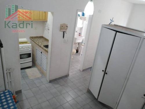kitnet residencial à venda, vila guilhermina, praia grande. - kn0164