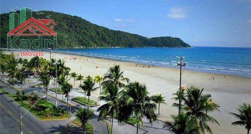 kitnet residencial à venda, vila mirim, praia grande. - kn0091