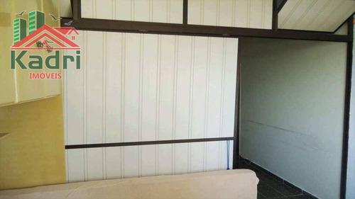 kitnet residencial à venda, vila mirim, praia grande. - kn0111