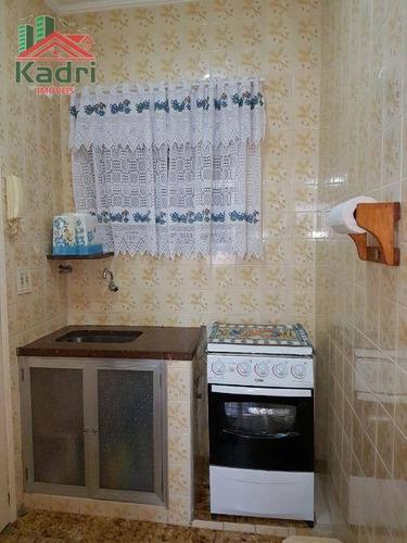 kitnet residencial à venda, vila mirim, praia grande. - kn0117