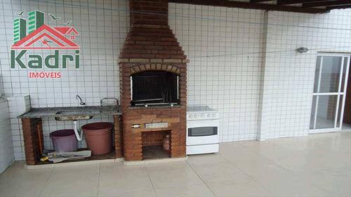 kitnet residencial à venda, vila tupi, praia grande. - kn0041
