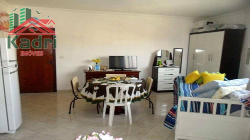 kitnet residencial à venda, vila tupi, praia grande. - kn0050