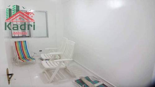 kitnet residencial à venda, vila tupi, praia grande. - kn0075