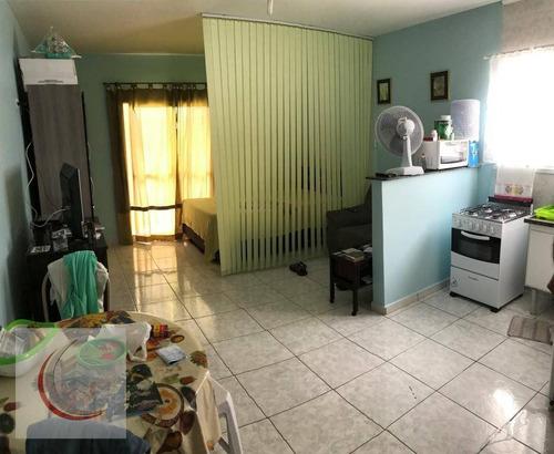 kitnet residencial à venda, vila tupi, praia grande. - kn0081