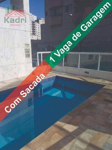 kitnet residencial à venda, vila tupi, praia grande - kn0188. - kn0188