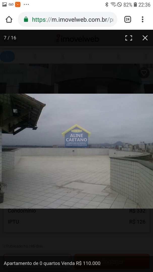 kitnet, tupi, praia grande - r$ 130 mil, cod: ac349 - vac349