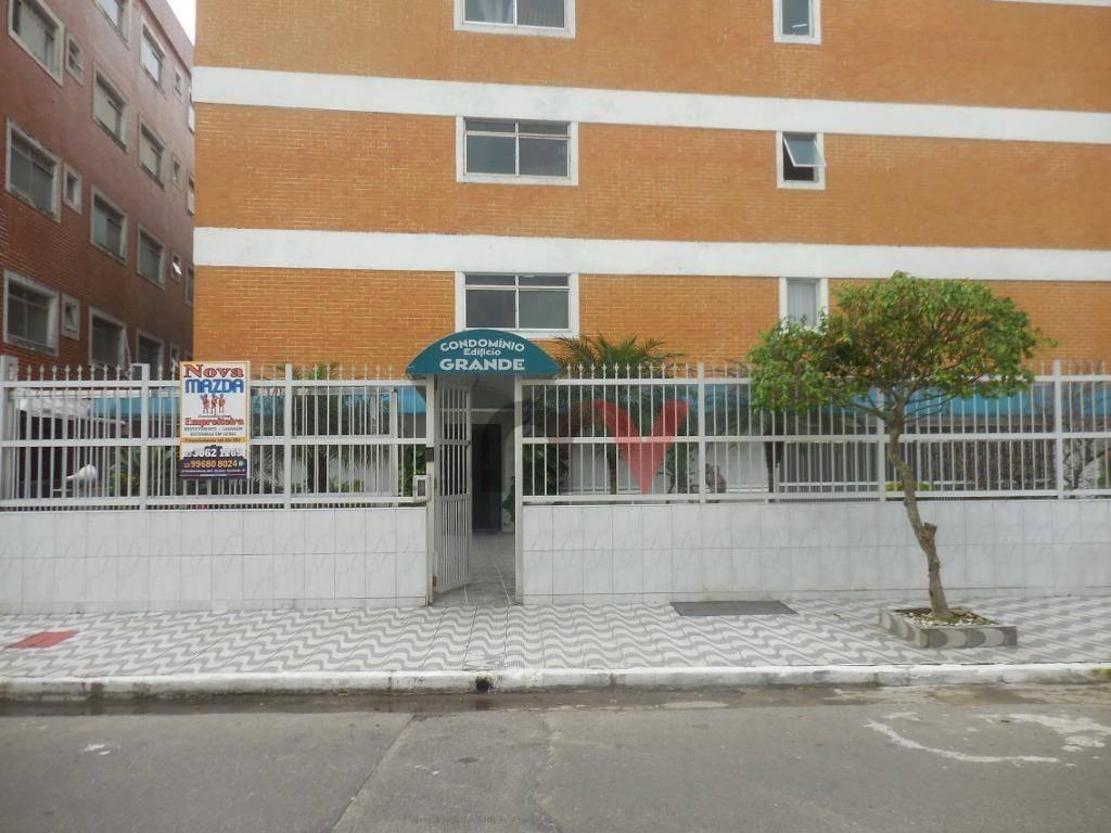 kitnet à venda, 38 m² por r$ 110.000,00 - aviação - praia grande/sp - kn0001