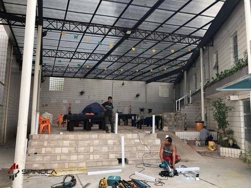 kitnet à venda, 38 m² por r$ 110.000,00 - mirim - praia grande/sp - kn0295
