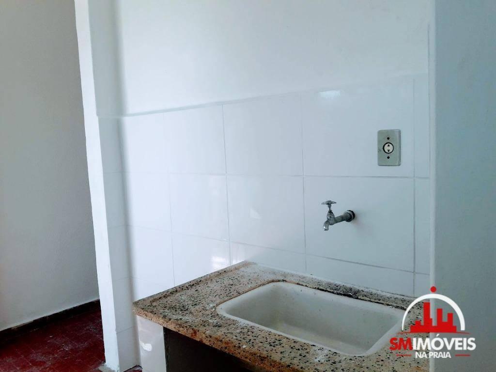kitnet à venda, 38,8 m² por r$ 120.000 - boqueirão - praia grande/sp - kn0179