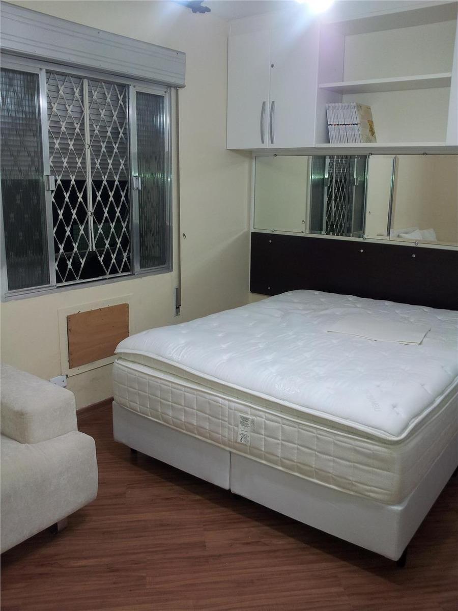 kitnet à venda, 40 m² por r$ 235.000,00 - aparecida - santos/sp - kn0134