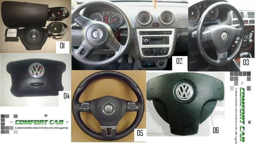 kits air bag vw    bora  gol trend  fox suran voyage amarok
