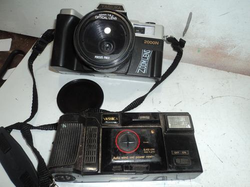 kits com 2 maguina tira foto antiga / decoraçao/yashica/yasu