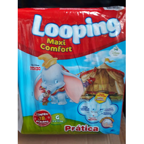 8aa420ff5 Fralda Looping Mega Pack Bebes Fraldas Descartaveis no Mercado Livre Brasil