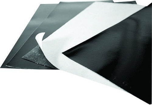 kits de 40 folhas de imã manta magnética 0,04mm adesiva a4