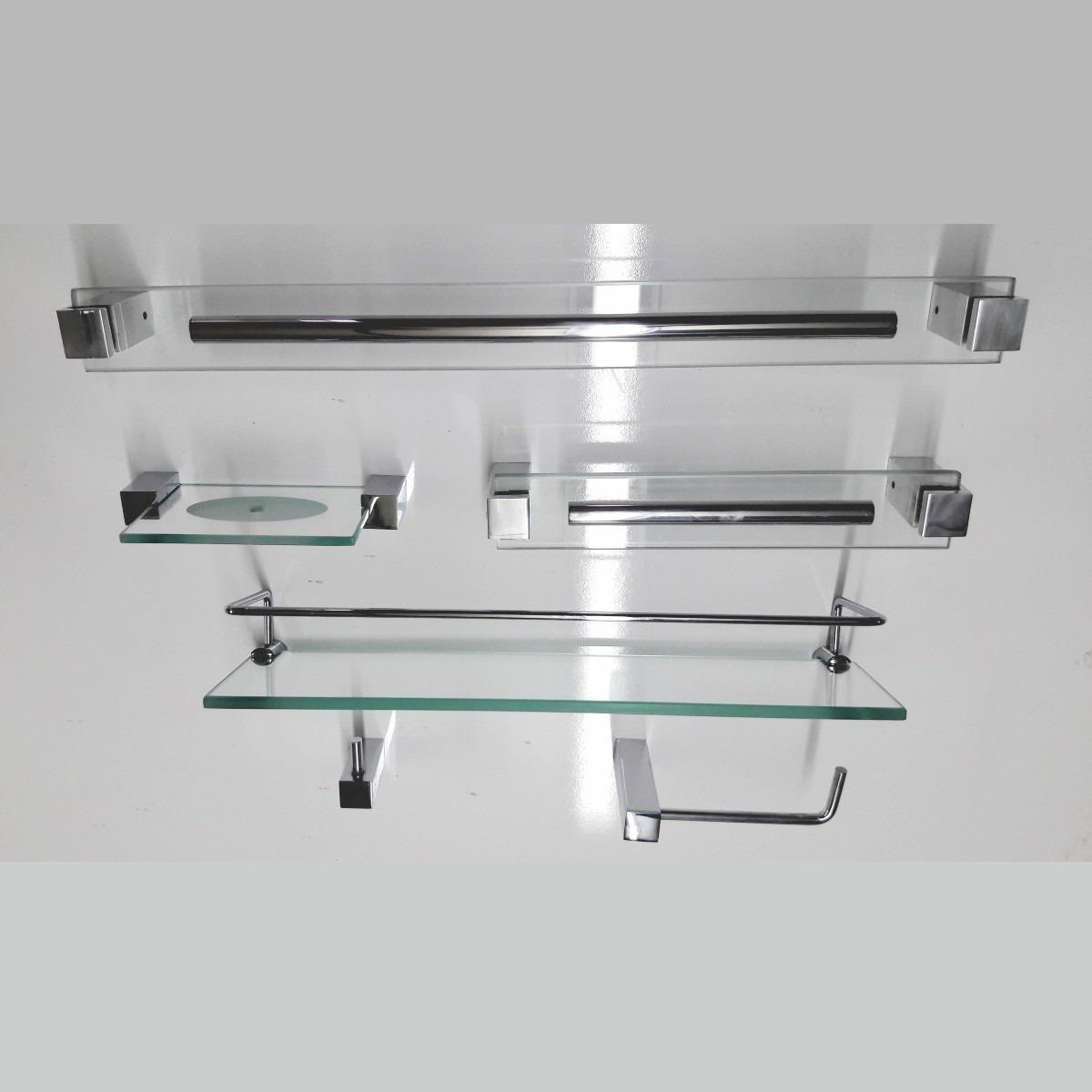 Kits De Acessorios Para Banheiro 6 Peças Exclusive R$ 229 90 em  #335A51 1200 1200