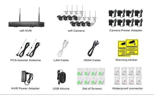 kits de cctv inalámbrico de 8 canales