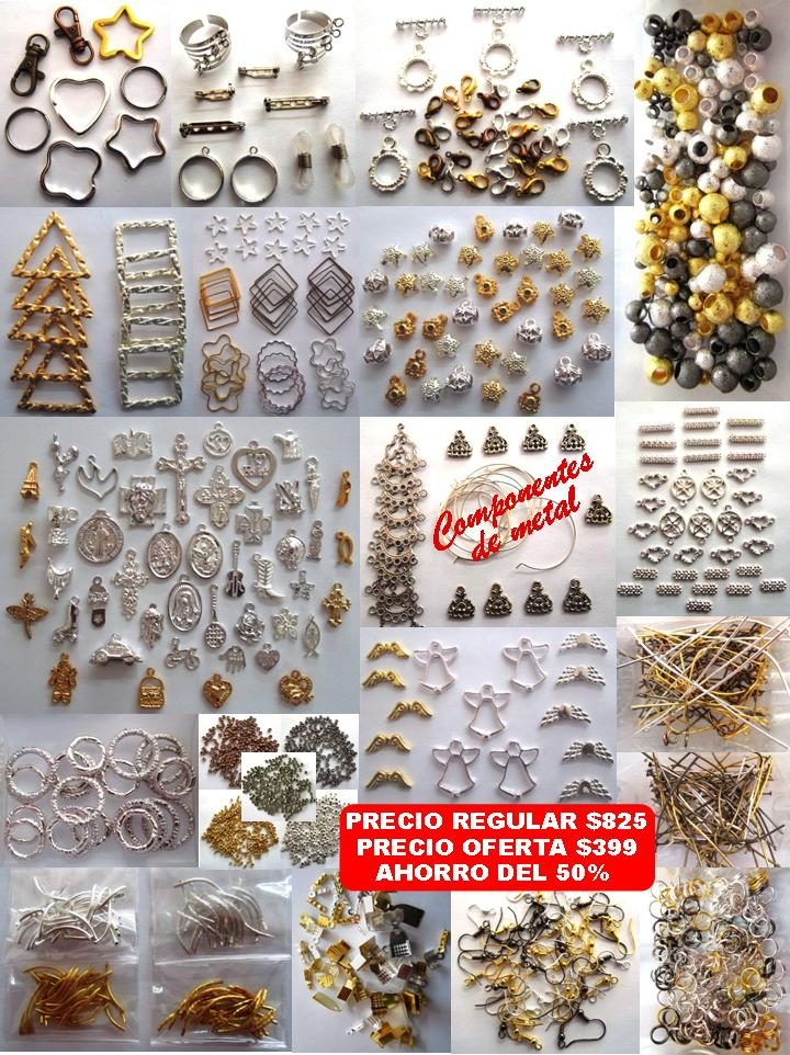 c41b29ab3858 Kits De Materiales Joyeria Y Bisuteria Swarovski Murano Etc ...
